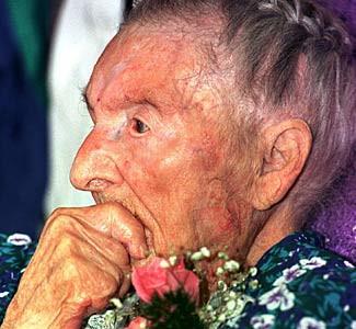 donna più anziana al mondo