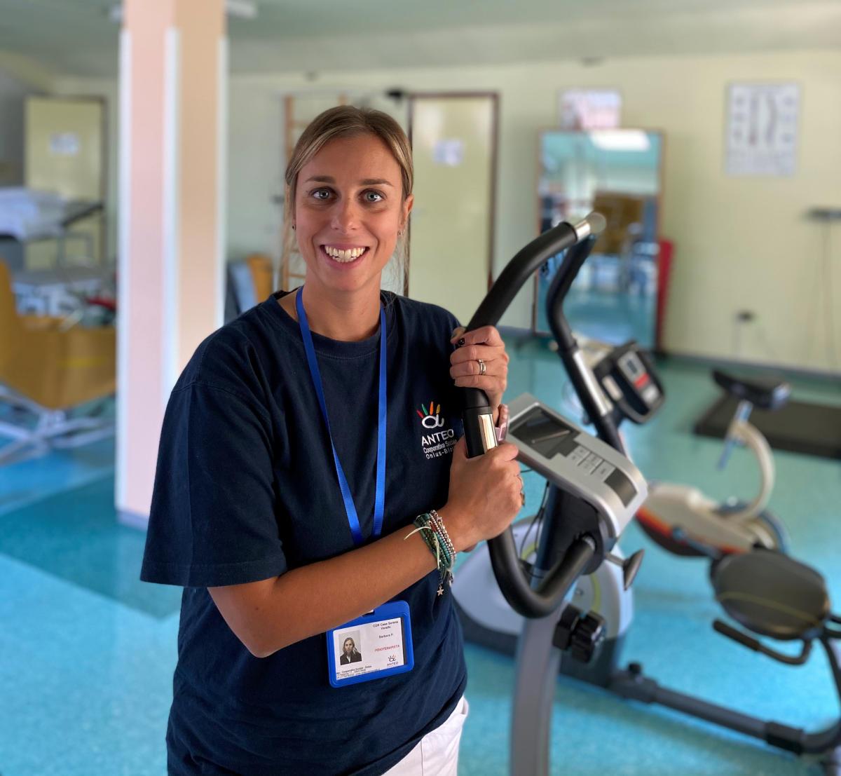 la fisioterapia in casa di riposo RSA