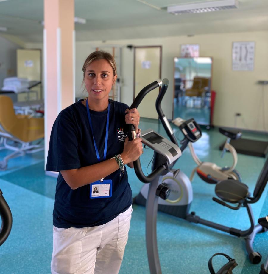 la fisioterpia in casa di Riposo RSA