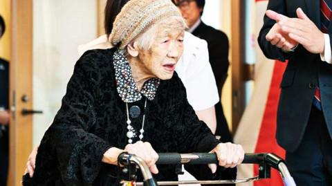 anziane più vecchie al mondo