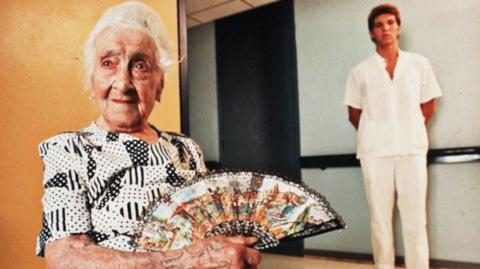 anziana centenaria da record